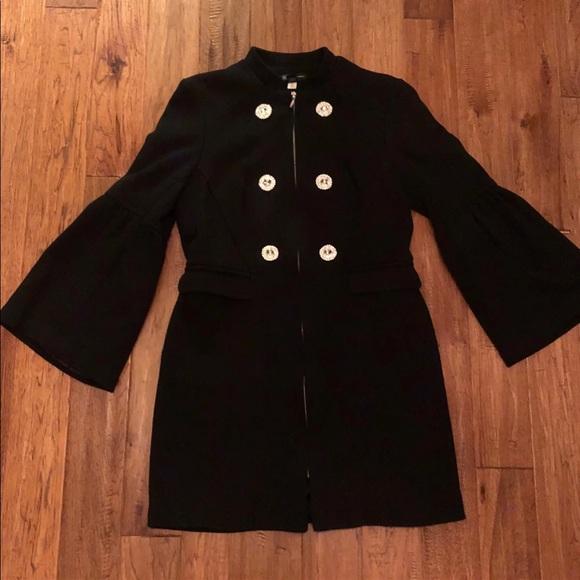 INC International Concepts Jackets & Blazers - INC international Concepts Bell-Sleeve Ponte-Knit